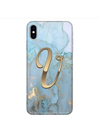 People's Cover iPhone XS MAX Baskılı Harfli Telefon Kılıfı Renkli